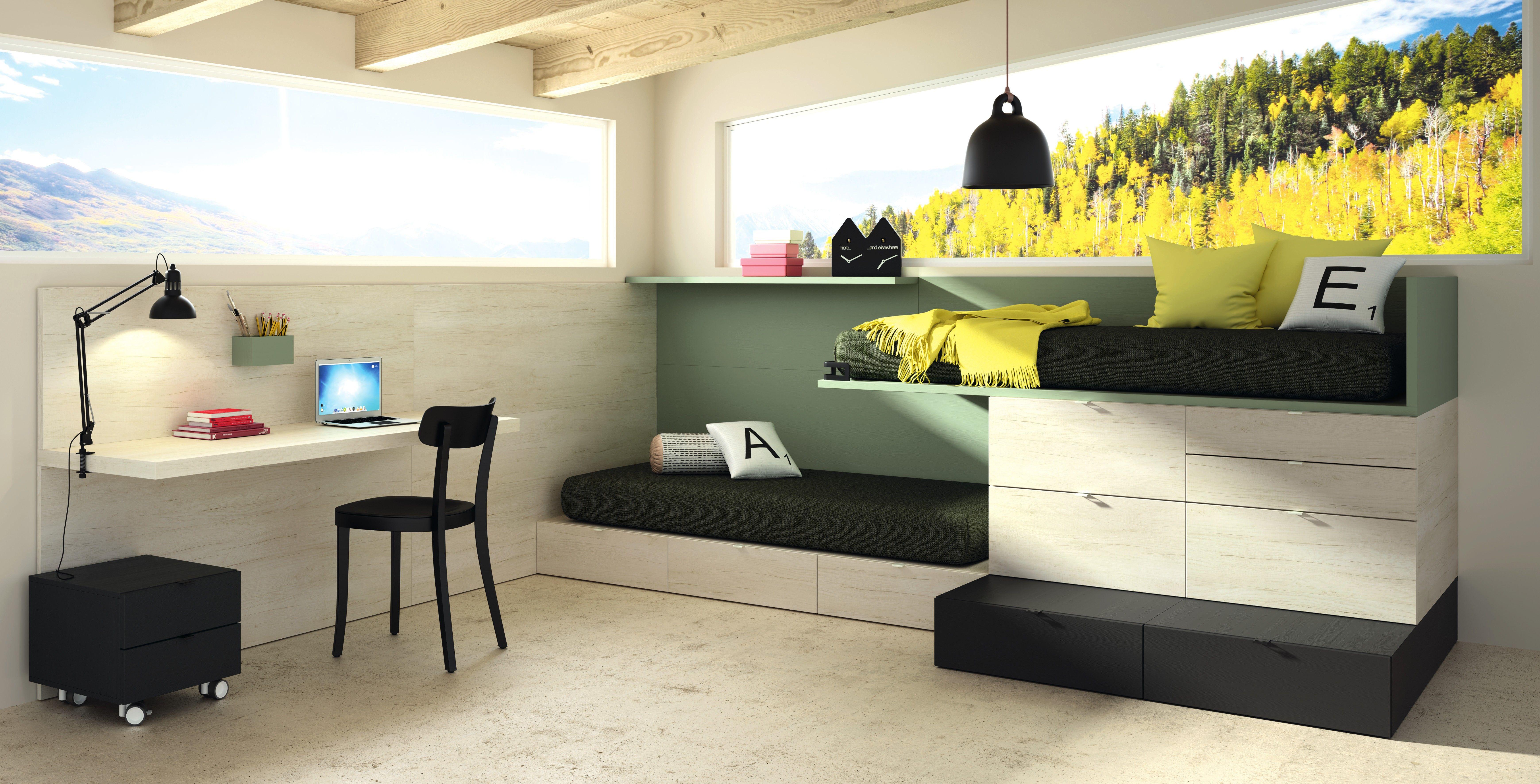 cama tren lagrama montreal muebles