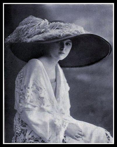 1912 Edwardian Fashion: Hat - 6 #edwardianperiod