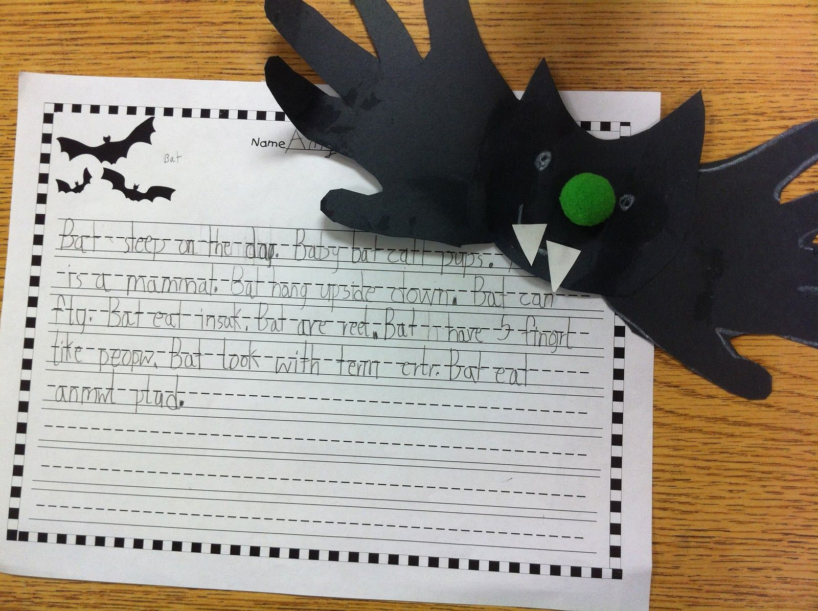 Bat - Story Starters for Kids (Halloween)