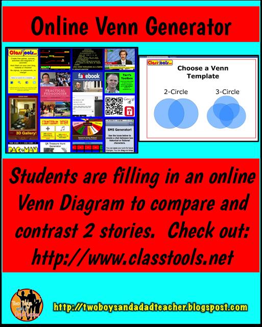 Wednesday Window Into My Classroom Online Venn Diagrams Venn