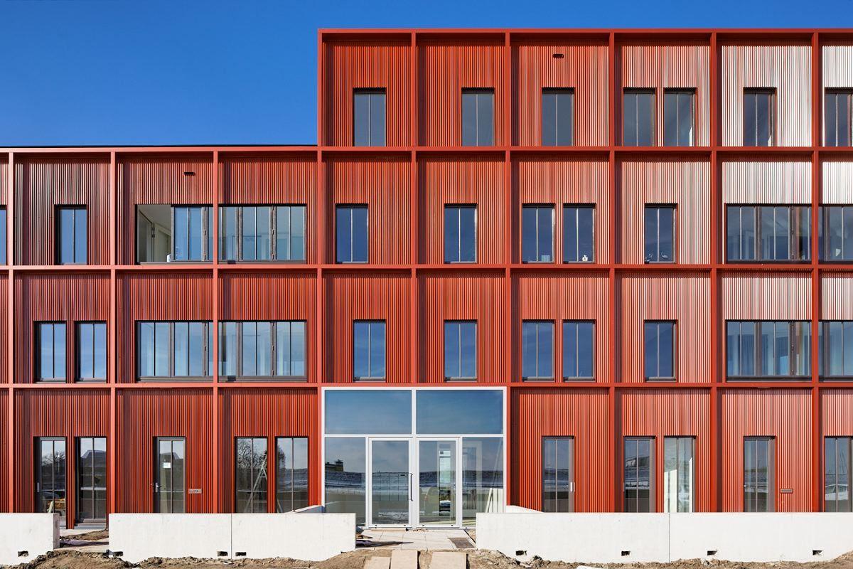 Twee appartementengebouwen in Zierikzee door Kingma Roorda - alle projecten - projecten - de Architect