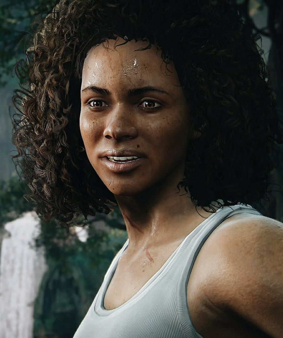 Nadine Uncharted The Lost Legacy Uncharted Gamer Girl Sam Drake