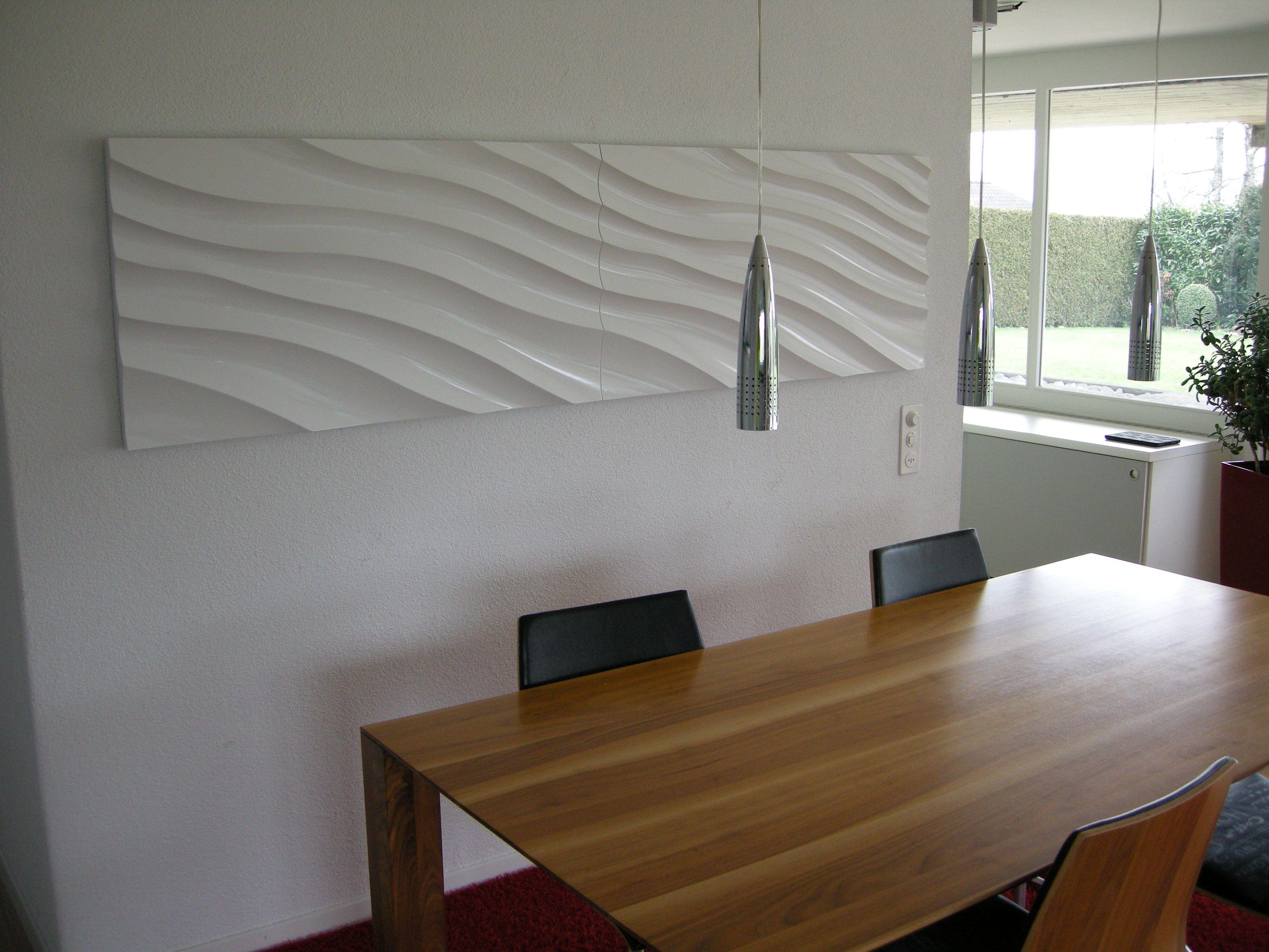 Fantastisch Wandverkleidung Weiss