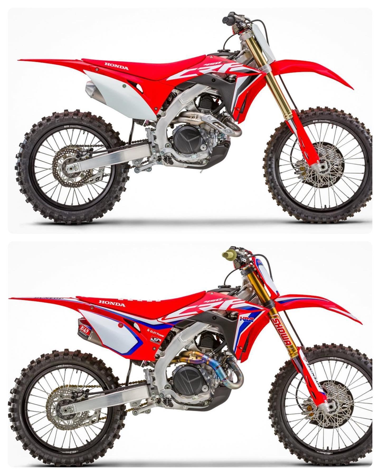 2020 Honda Crf450r Motocross Bikes Honda Powersports Dirtbikes