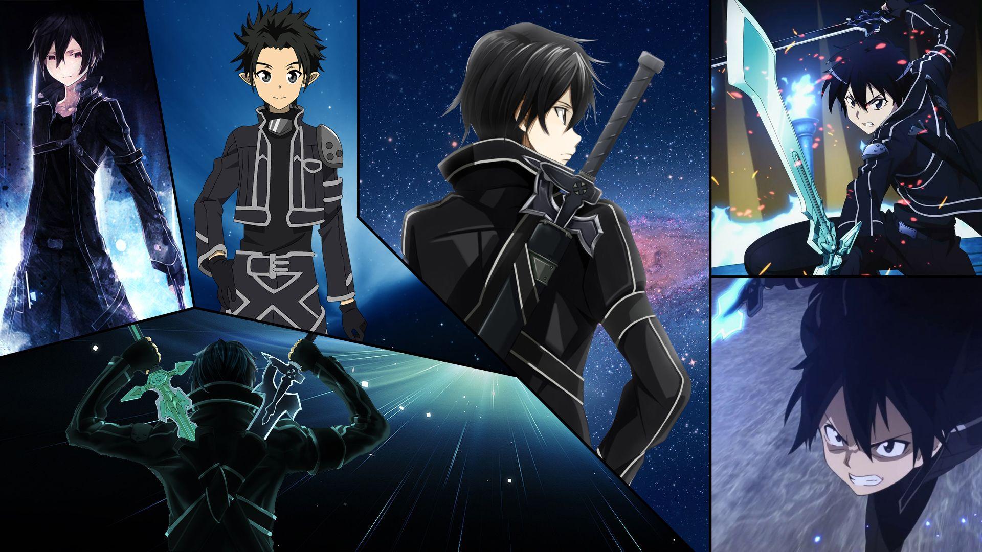 Kirito Collage By Dinocojv Anime