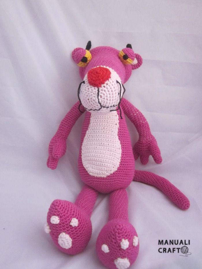 Pantera rosa en amigurumi   Manualicraft - Amigurumi, scrap y ...