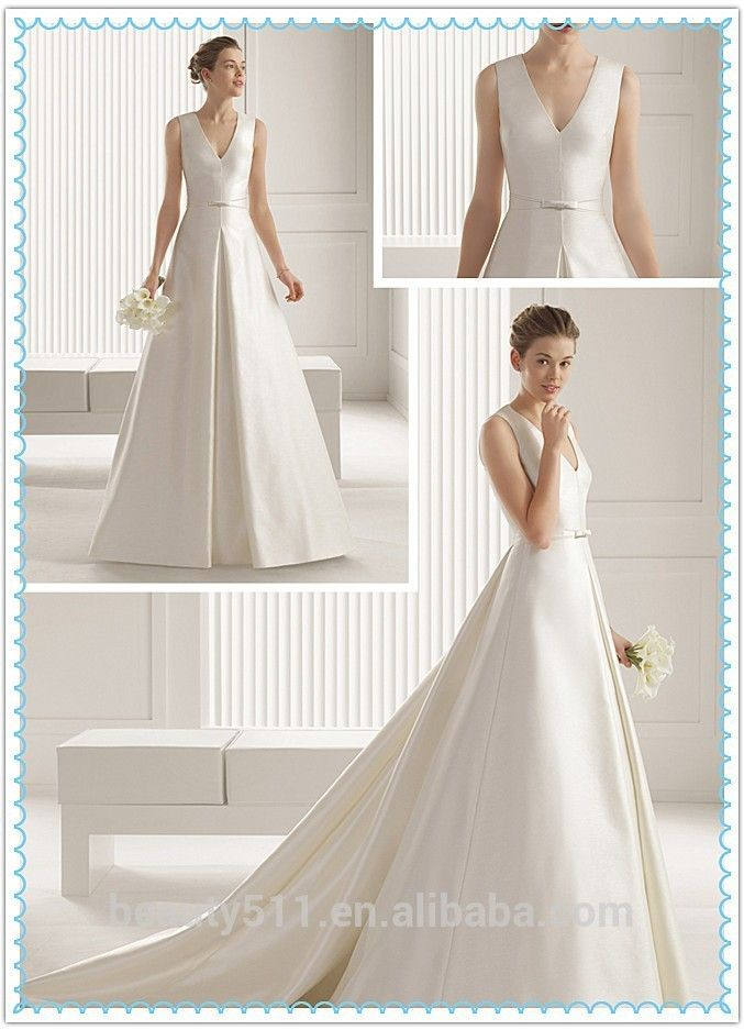 Raw Silk Wedding Dresses | Wedding Gallery