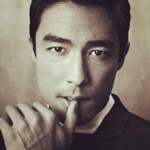 When there was some blessed thumb-lip-biting action. | 43 Times Daniel Henney Ruined You For Other Men