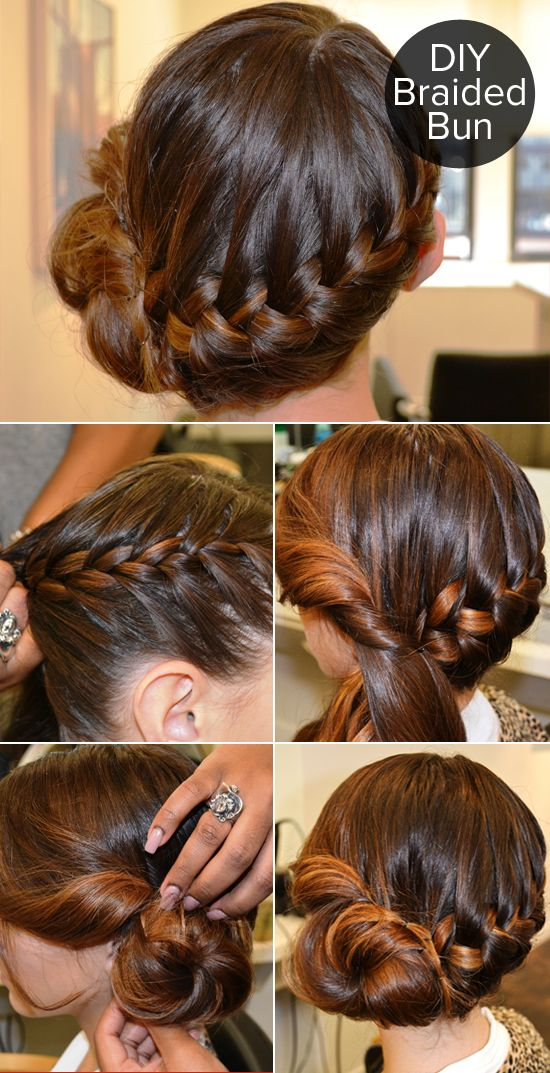 This Braided Bun Can Be Yours in 5 Easy Steps