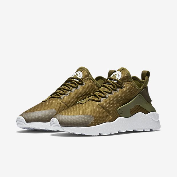 04efcd11b7a1 ... promo code for nike air huarache ultra womens shoe olive white 35d3c  3b2ce