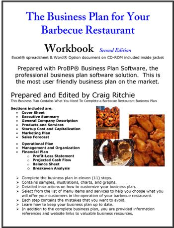 The Business Plan For Your Barbecue Restaurant  Reading Material