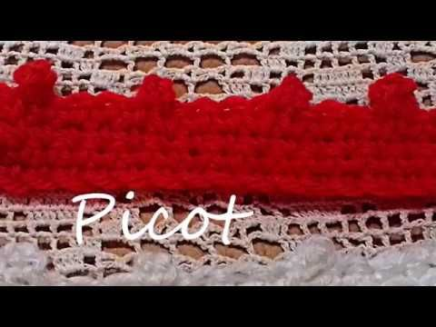 comment faire un picot au crochet