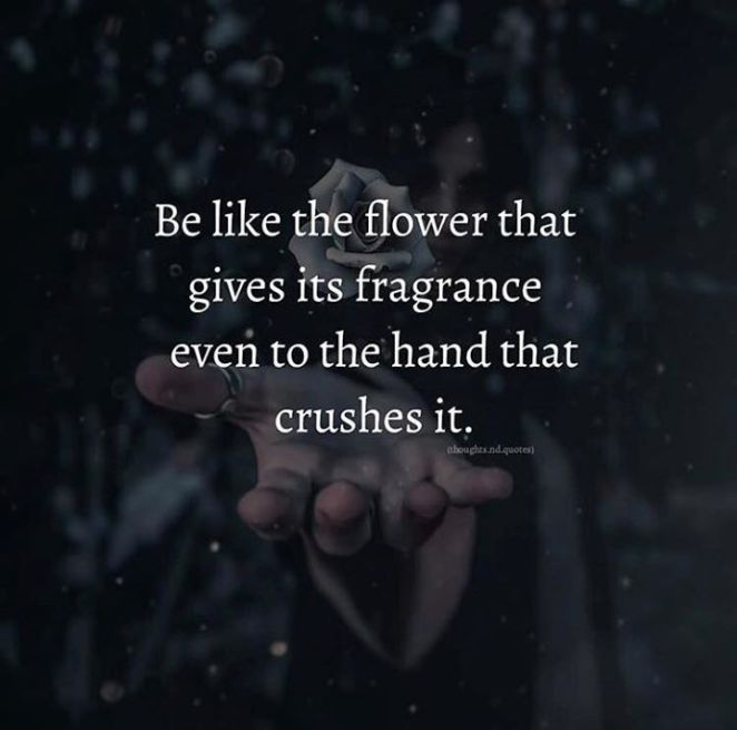 Inspirational Positive Quotes :Be like the flower..