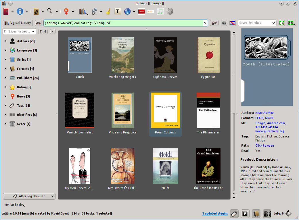 How to Add a Book Cover to Ebooks in Calibre | Technology