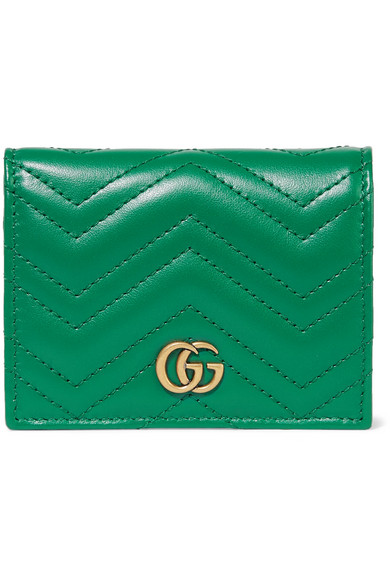 6d5769826dfbc4 GUCCI | GG Marmont Small Quilted Leather Wallet | $429.37 | Gucci fans can  easily identify the accessories in the 'GG Marmont' collection just based  on the ...