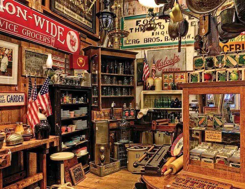 American Pickers! :) Americana Puzzle -Springbok 500 Pieces