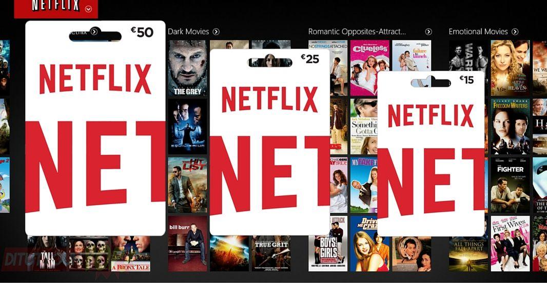 Netflix Italia gift card natalizie per portare Netflix sotto l'albero, un'idea regalo per appassionati di film e serie tv