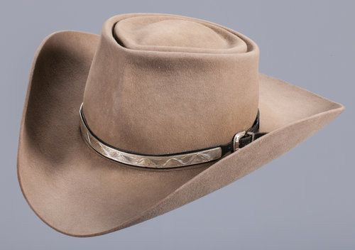 21740dc7c36 Roy Rogers  Personal Nudie s Hat. This Nudie s Rodeo Tailors hat is a great  example of the Roy Rogers style. Complete with a silver hat band