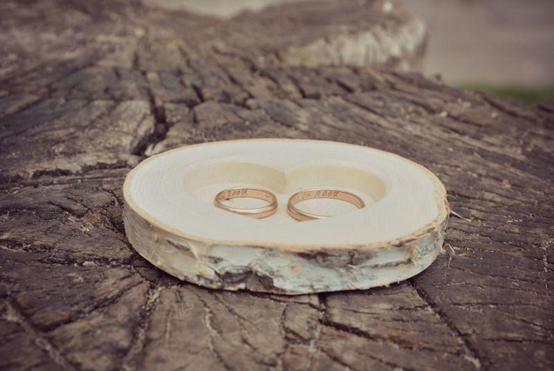 Holz Ring Kissen Fur Hochzeit Holz Ring Box Von Klikklakblocks Auf