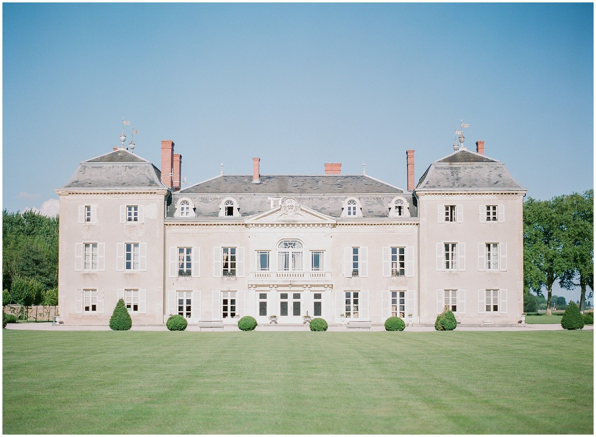 Trouwen In Frankrijk A Stunning Chateau In Burgundy France