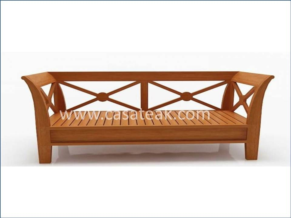 Teak Wood 2 Seater Sofa In Johor Teakwood Furniture