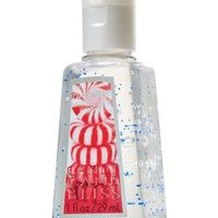 Candy Cane Bliss Pocketbac Sanitizing Hand Gel Anti Bacterial