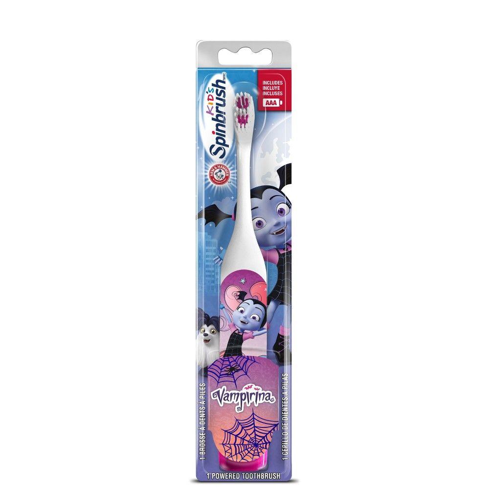 Spinbrush Kids Vampirina 1ct Spinbrush Power Toothbrush Brushing Teeth