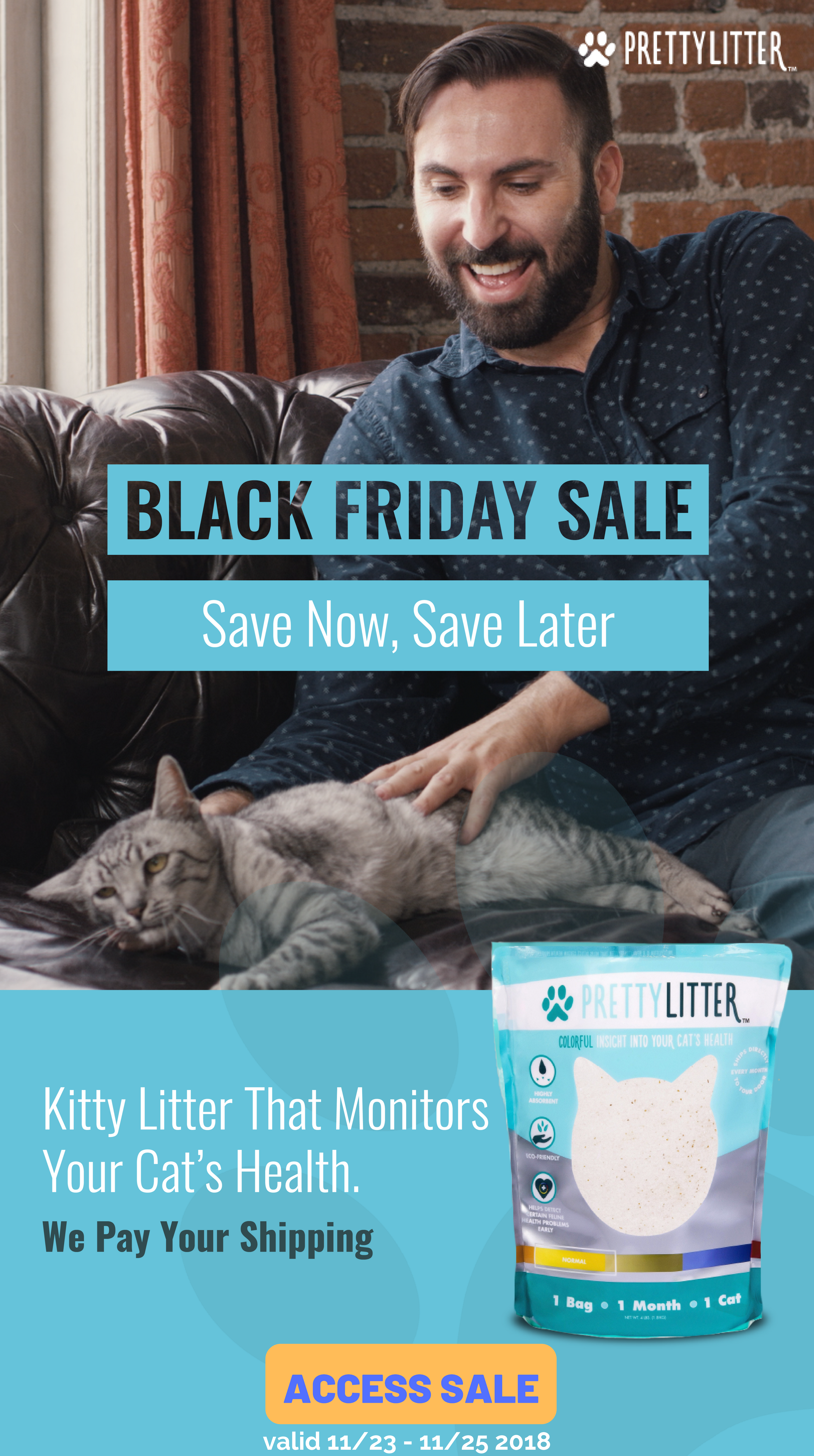 Pretty Litter's 2018 Black Friday Sale! High quality cat