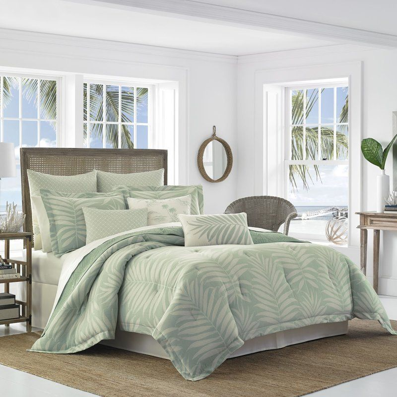 Abacos 4 Piece Reversible Comforter Set Tommy Bahama Bedding