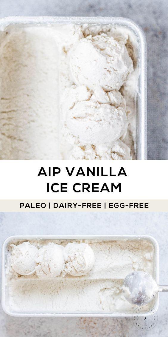 Photo of AIP Vanilla Ice Cream (Paleo, Dairy-free, Egg-free)