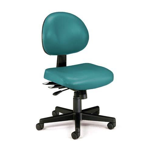 Ofm Office Furniture Teal Vinyl 24 Hour Task Chair