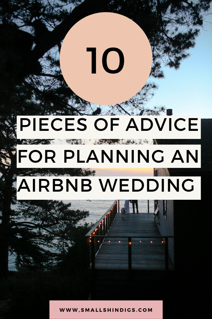 Complete Guide: Planning an Airbnb Wedding — Small Shindigs
