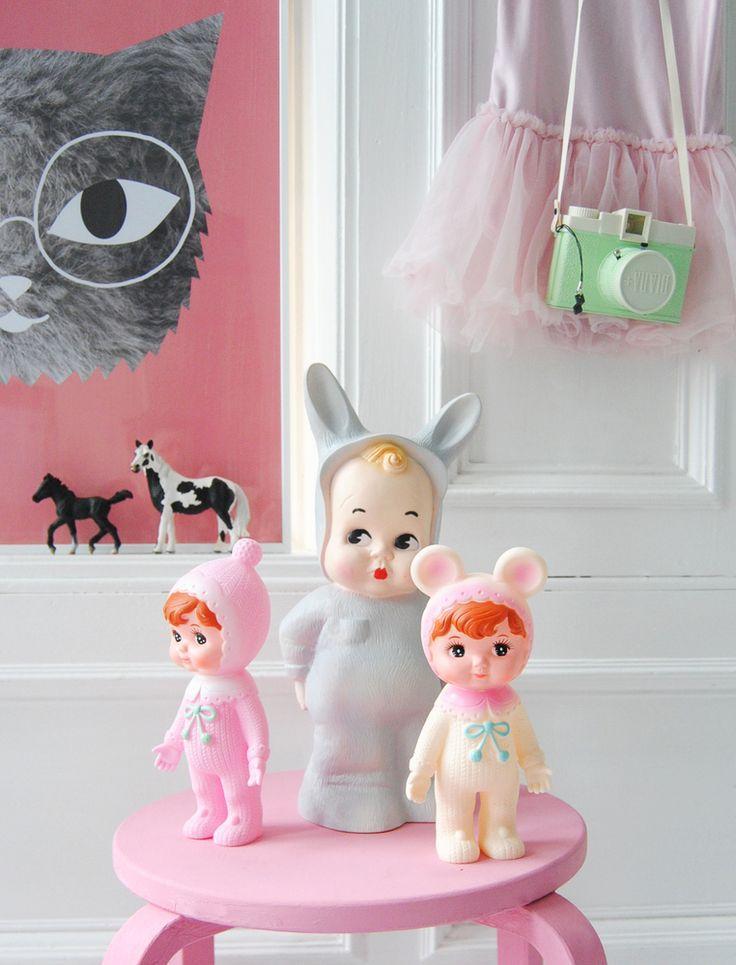 Lapin me lampjes, figuurlamp kinderkamer, lamp meisjeskamer ...