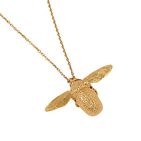 Alex monroe 22ct gold vermeil bumble bee pendant necklace gold buy alex monroe 22ct gold vermeil bumble bee pendant necklace gold online at johnlewis aloadofball Gallery