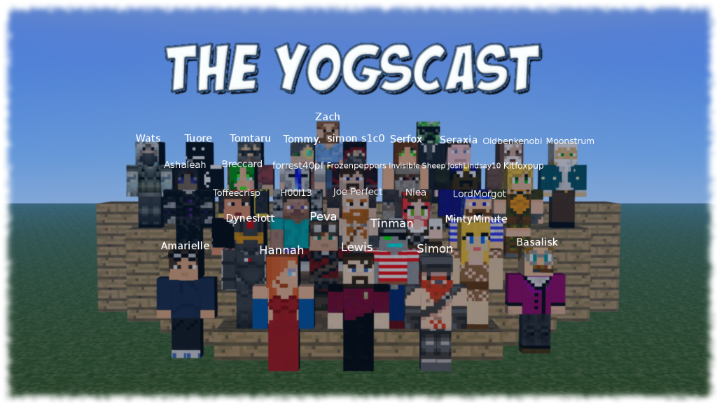 Minecraft And The Yogscast Yogscast Minecraft Youtubers Image