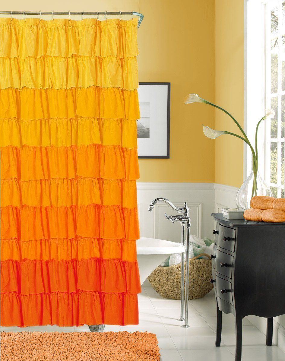 These Shower Curtains Will Brighten Your Day If You Enjoy Bright Bold Colors