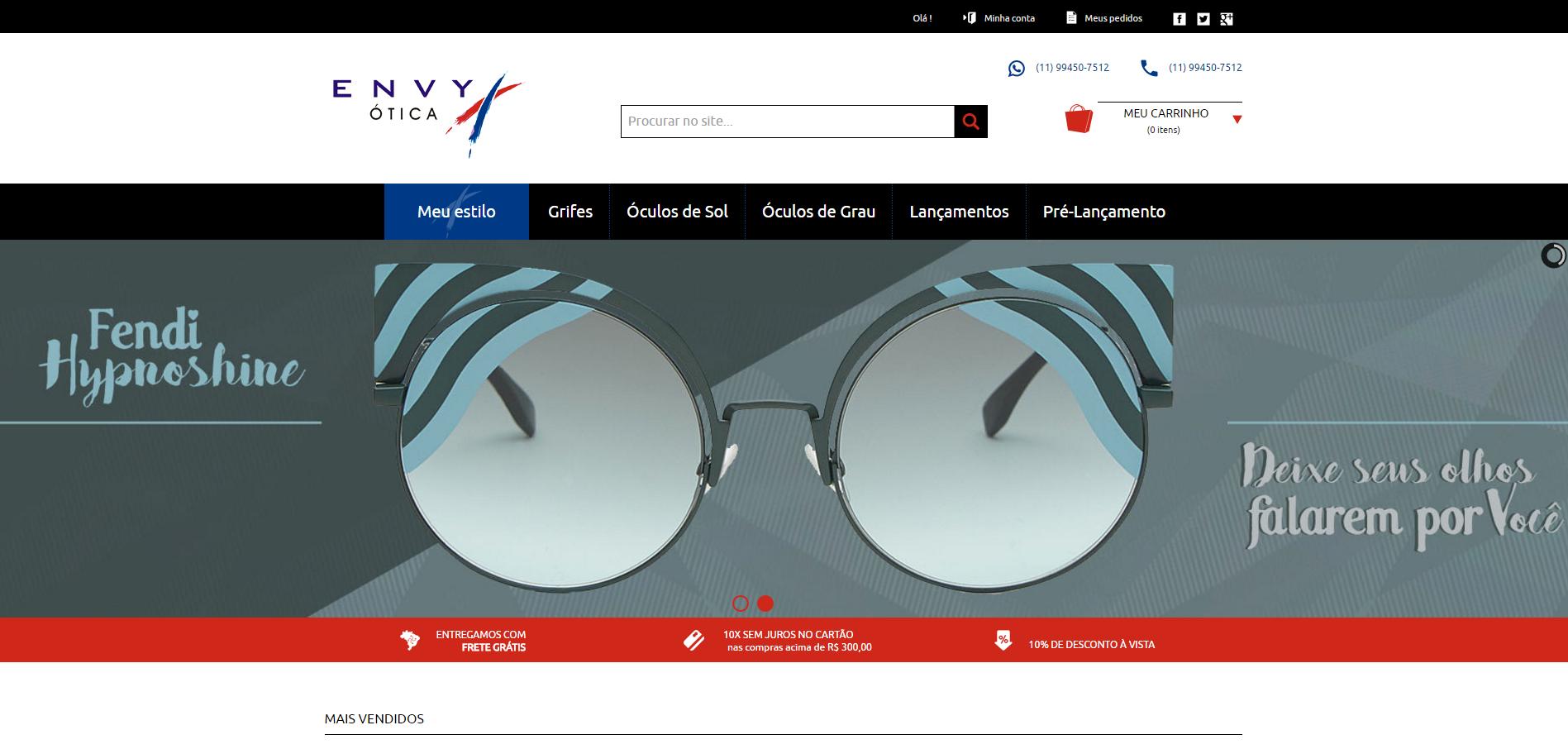 Ainda não conhece nossa loja online ! Temos óculos de sol e de grau ... 34dbb71e59