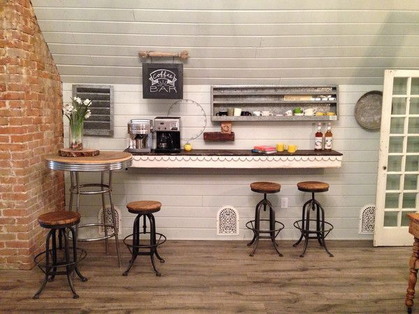 The Magnolia Mom Joanna Gaines Farmhouse Coffee Bar