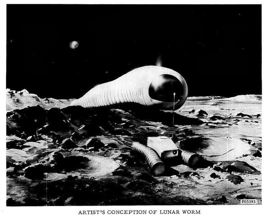 The Lunar Worm!! Dark Roasted Blend: World's Strangest Vehicles, Part 4