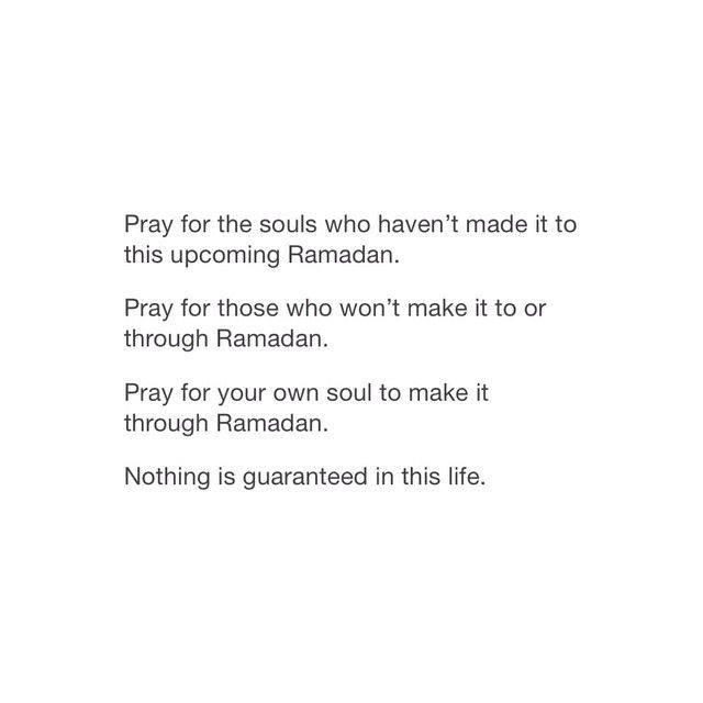 #Ramadhān1436 . . اَللّهُمَّ بَلِّغْنَا رَمَضَان Allāhumma ballighna Ramadhān – O Allāh! Let us reach the month of Ramadhān. May Allāh ﷻ make us of the successful in Ramadhān, and make it easy for us to turn to Him completely and perpetually. Āmeen. __________