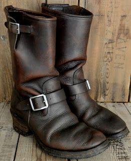 Engineer Boots Vintage
