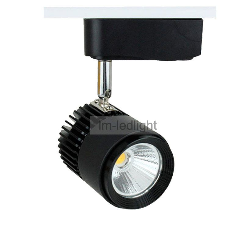 black track lighting 5w 7w surface mounted type 2 wire 3 wire
