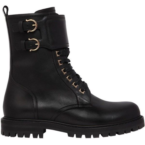Salvatore Ferragamo Women's Crotone Leather Booties lh7kjs