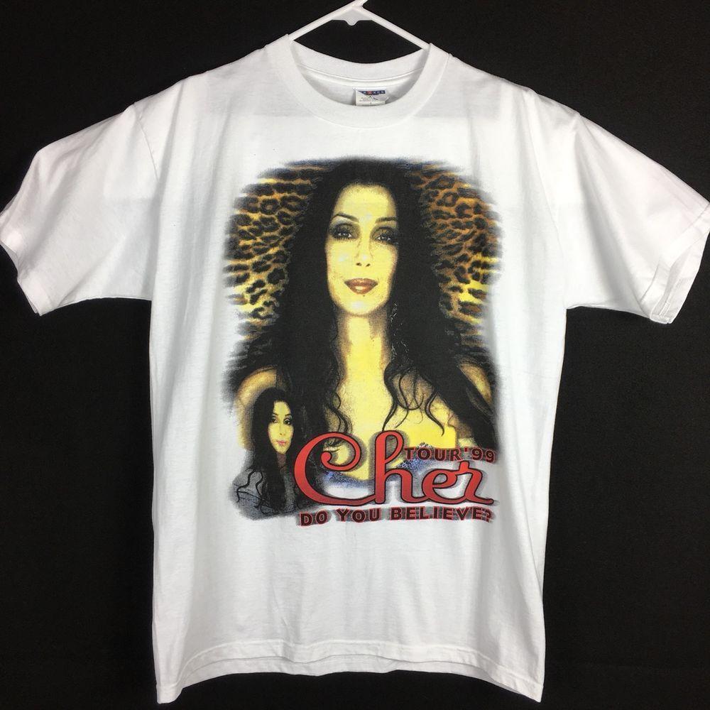 8df1562c Cher Womens Mens Size XL Concert Shirt 1999 Do You Believe   eBay ...