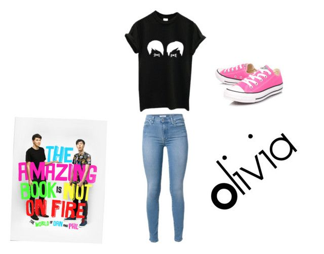 """""""Olivia"""" by lydia-n-radford on Polyvore featuring Converse"""