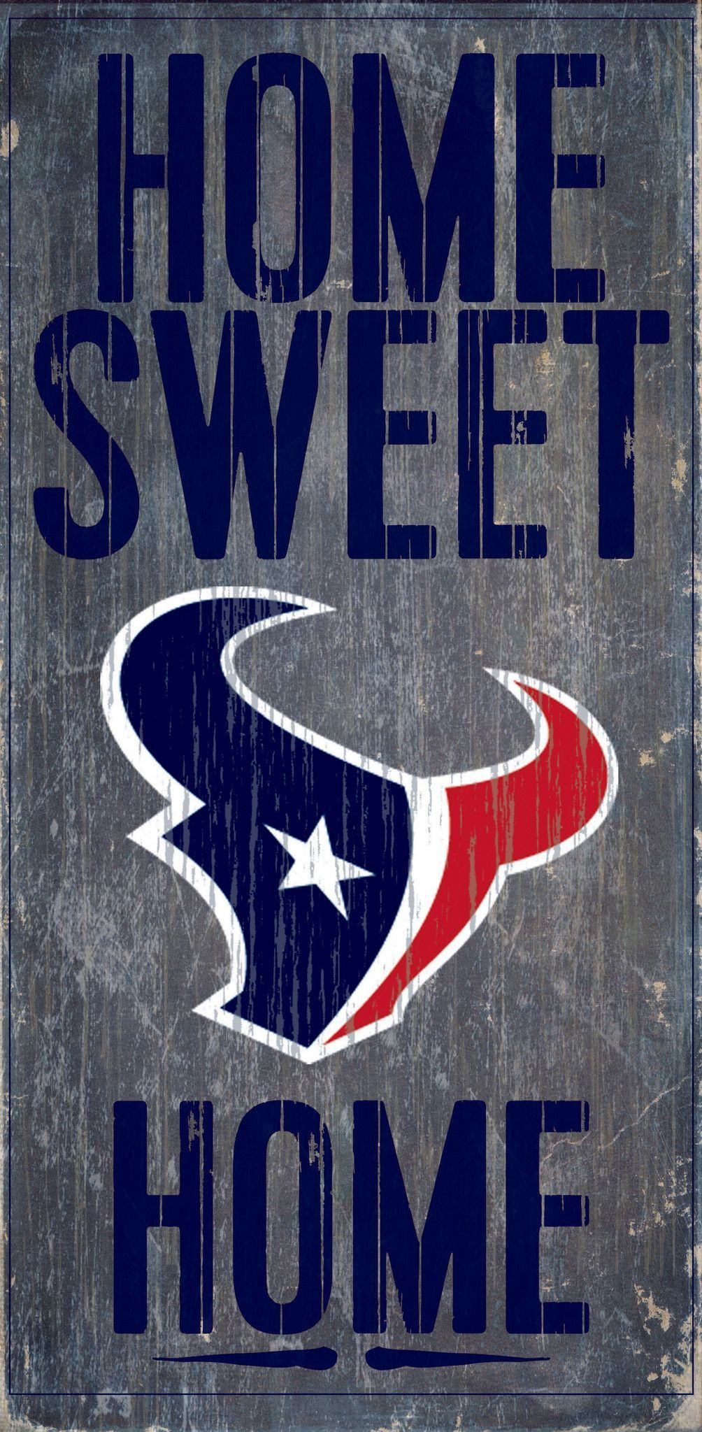 Welcome nfl fans enjoy your houston texans officially licensed team tailgationg gear houston texans wood sign home sweet home