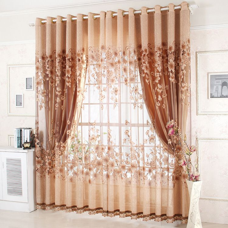 Cheap Curtains Living Room Window Buy Quality Curtain Size For Directly From China