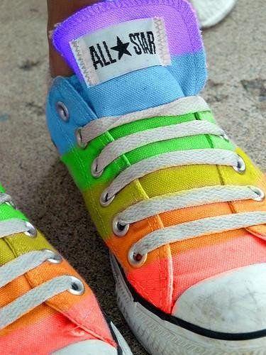 regenboog all stars   Schoenen, Grappige schoenen, Laarzen