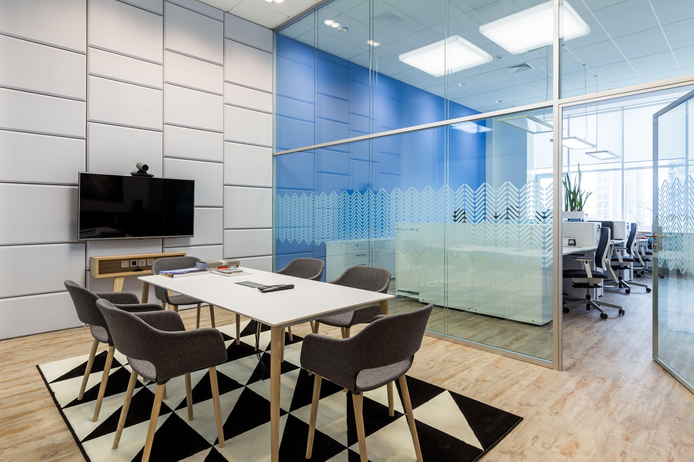 Office Interior Design Scandinavian Style Meeting Room