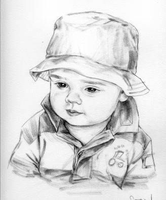Portrait drawing, Realistic drawings, Pencil portrait drawing